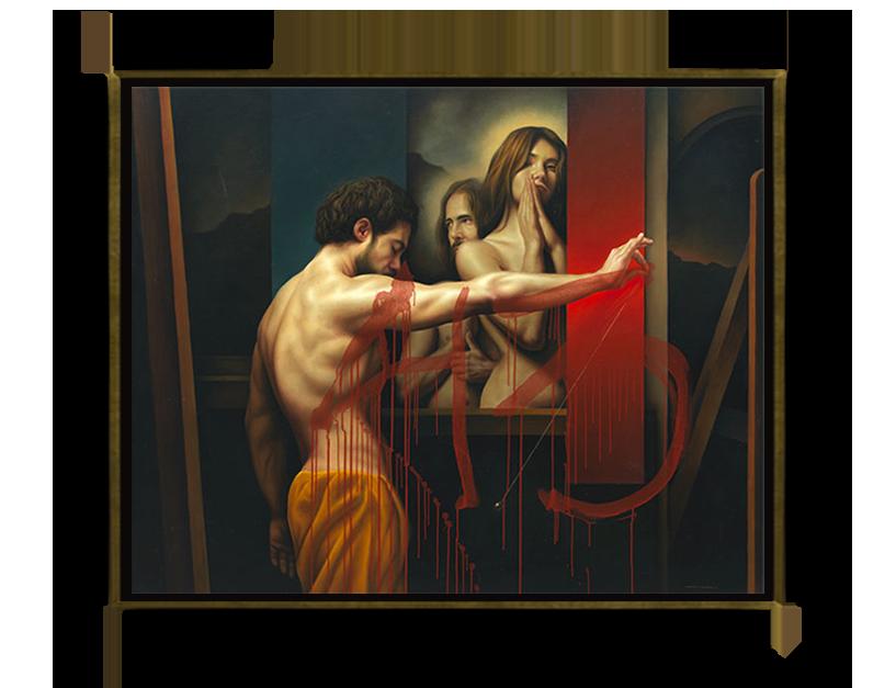 El péndulo (43) - Óleo sobre Tela