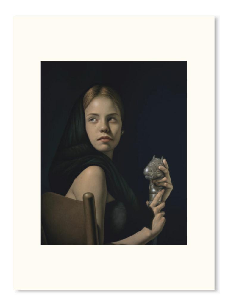 """Giclée - """"Vesta e Incitato"""" 71x56.5cm"""