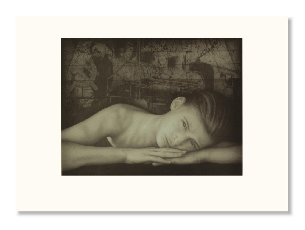 """Grabado - """"Belleza Rusa"""", 40x50cm"""