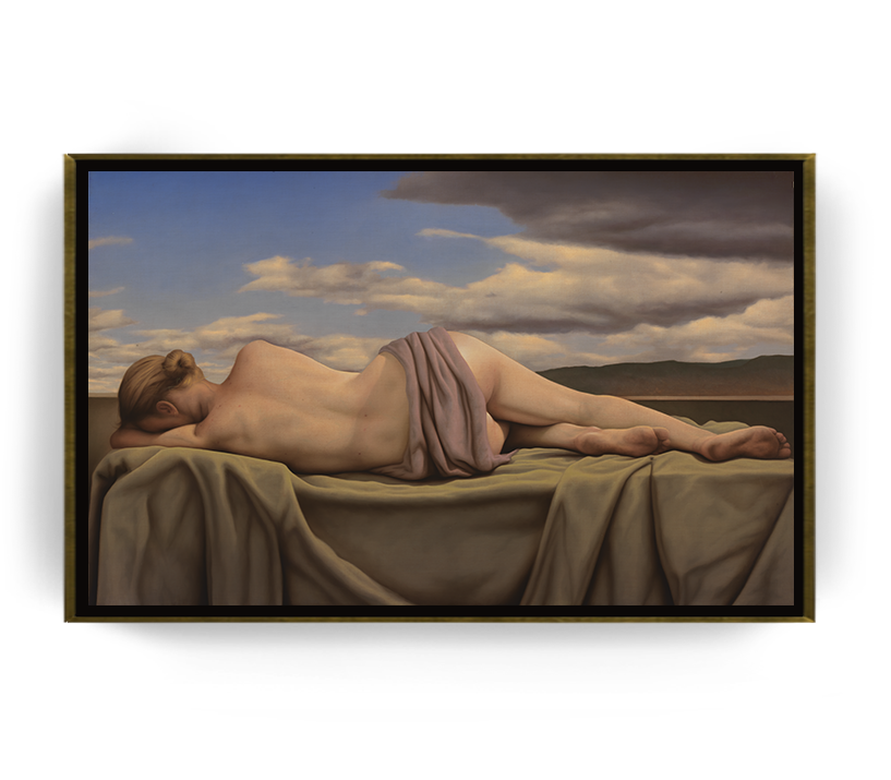 Venus Sibila Astral - Óleo sobre Tela